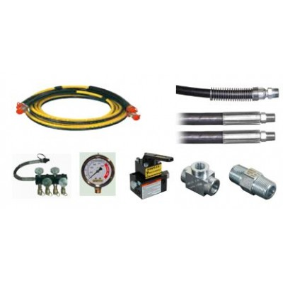 Hydraulic Accessories - Hoses, manifolds, gauges, ...