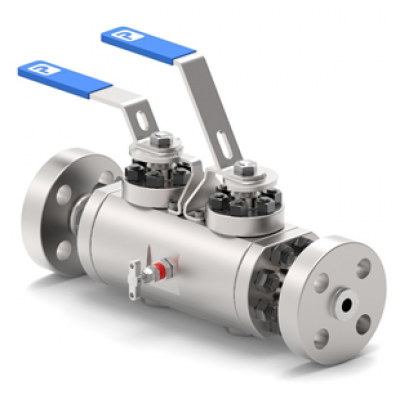 API 6D Trunion Mounted-Block & Bleed Valves