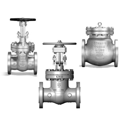 Cast Steel Valves (Gate, Globe, & Check Valves...