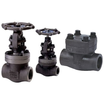 Forged Steel Valves (Gate, Globe, & Check Valves)