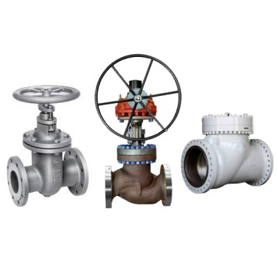 Gate, Globe, & Check Valves